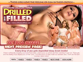 Welcome to Drilled And Filled - best hardcore creampie videos!
