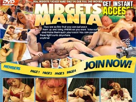 Midgets Mania - real midgets fucked hard only in our full DVD movies!