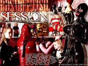 Welcome to BDSM Fetish Session! A tantalizingly sexual romp into the world of eurostyle latex! Watch as mistresses endure rubber hoods. The vacuum bed, clothes pins and more!
