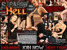 Welcome to Strapon Hell! Femdom scenes with pervy males assfucked with huge strapons, in HD! Beautiful ladies strapon males!