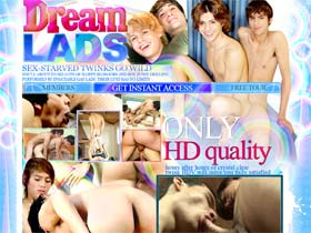 Welcome to Dream Lads - adorable gay boys show their great sexual drive and passion for cock!